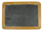 A blackboard on a wall is a great tool for practicing handwriting & building hand muscles